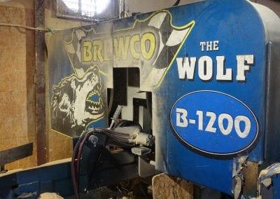 Wolf B-1200 Twin Head Resaw